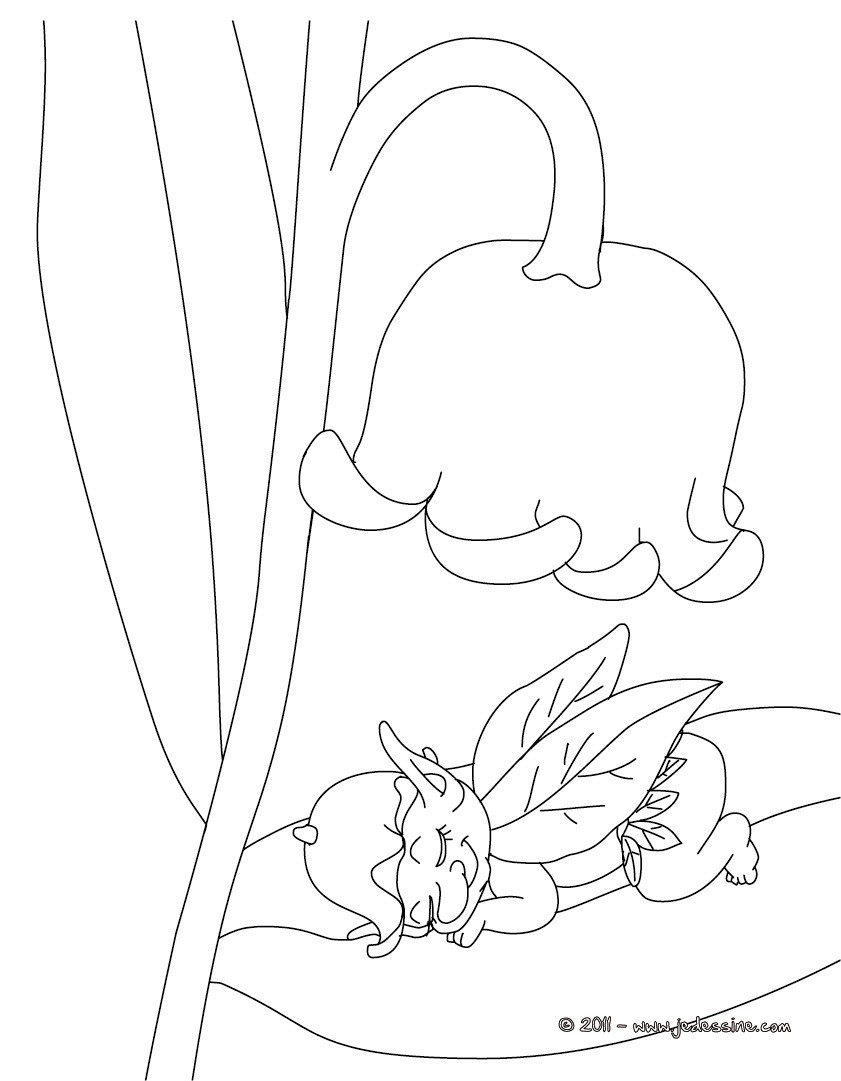 Dessin de muguet a imprimer gratuit - Muguet dessin ...