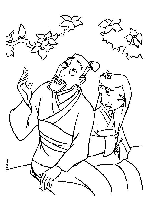 dessin dragon mulan