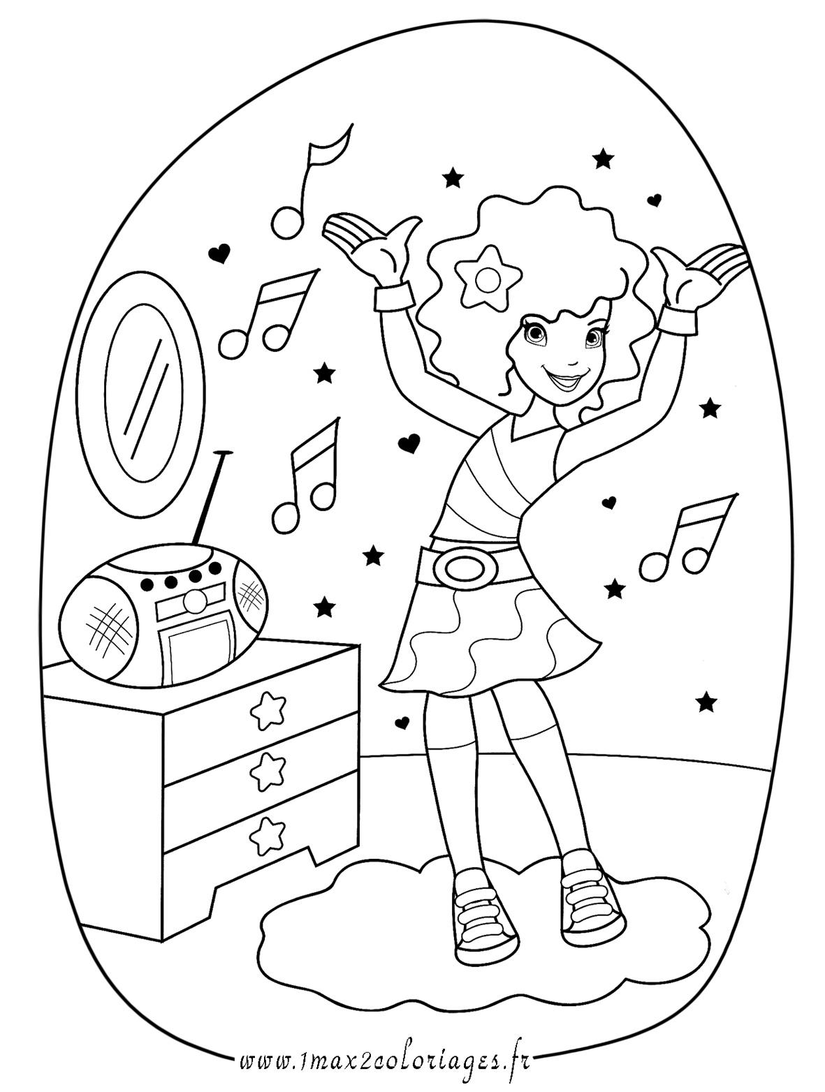 dessin de musique gratuit