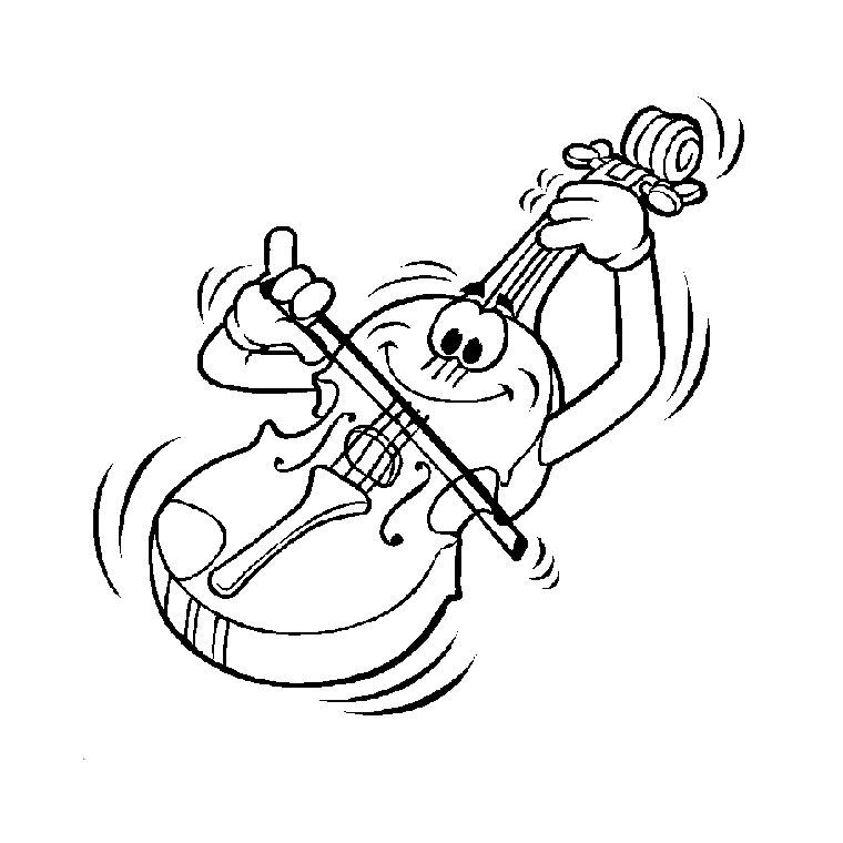 dessin à colorier musique note