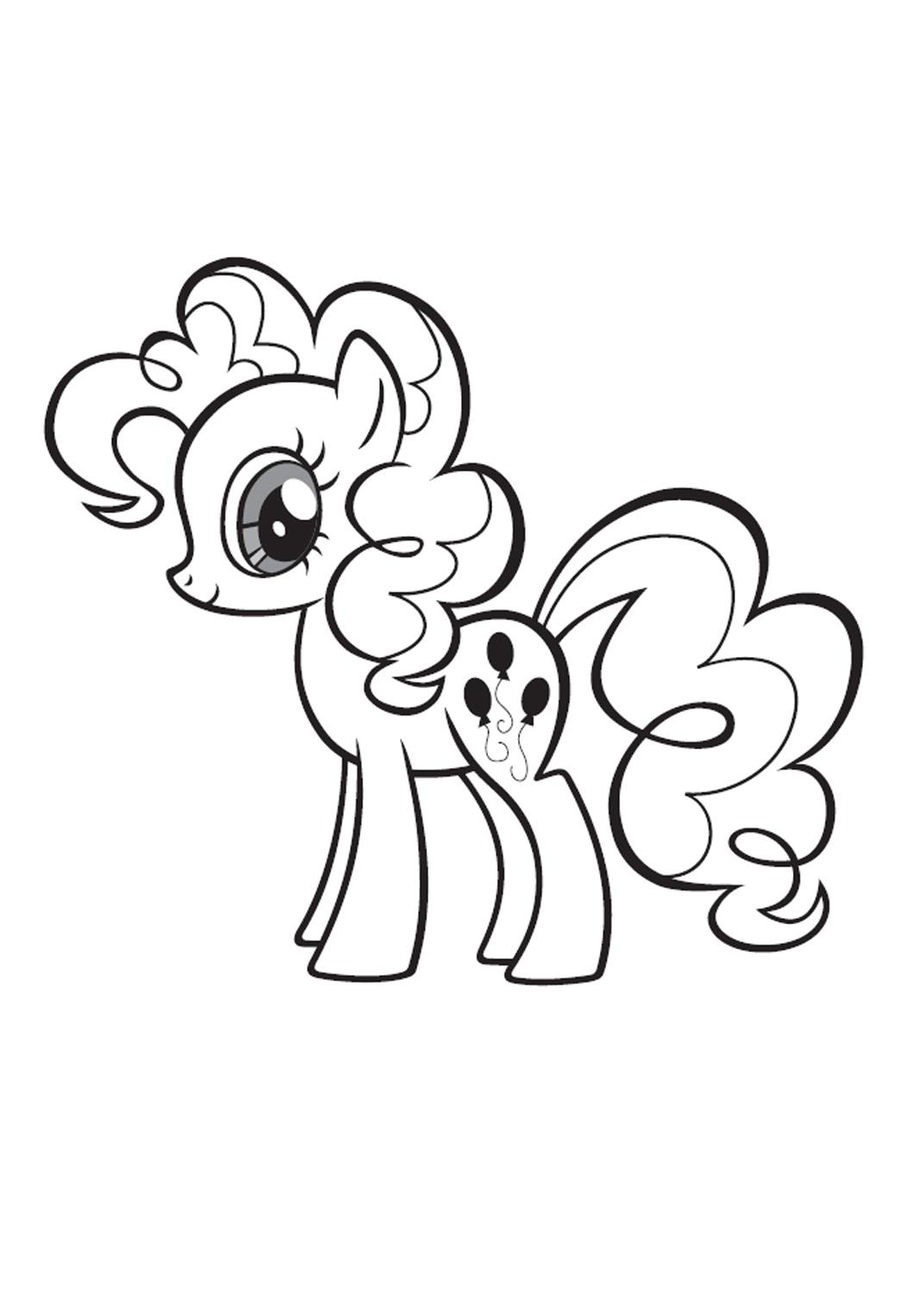 7 dessins de coloriage My Little Pony à Imprimer à imprimer