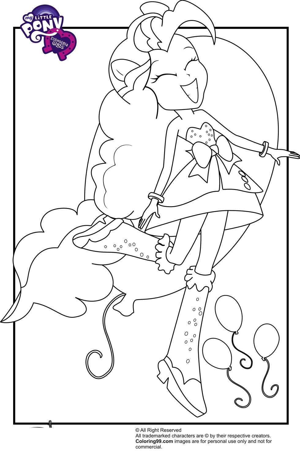 17 dessins de coloriage my little pony equestria imprimer - Coloriage pinkie pie ...