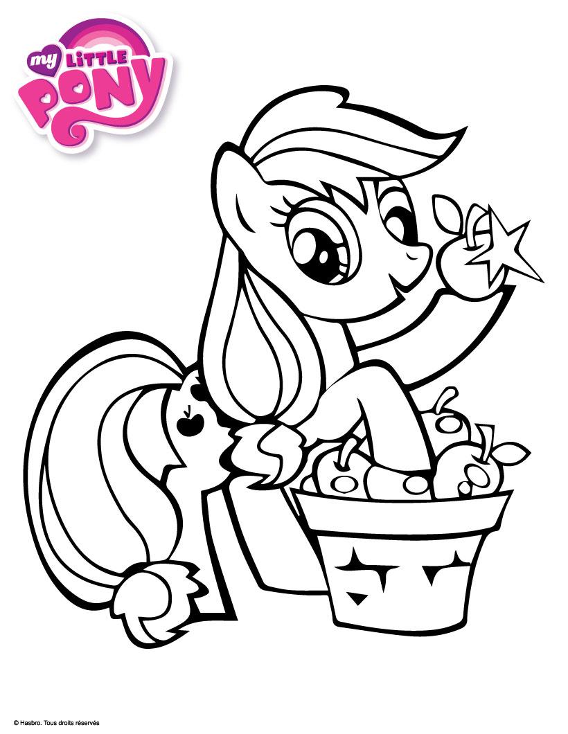 17 dessins de coloriage my little pony equestria imprimer - My little poney coloriage ...