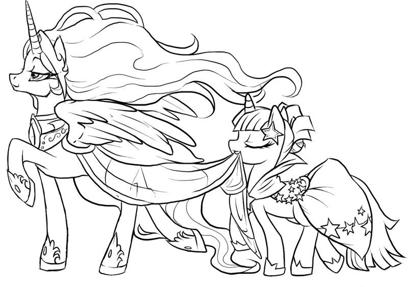15 dessins de coloriage my little pony humaine imprimer for Mlp coloring pages games