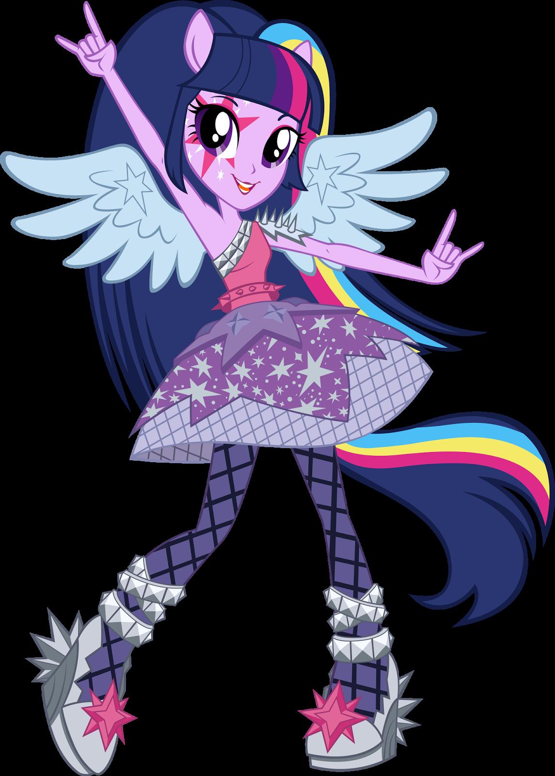 15 dessins de coloriage My Little Pony Humaine à imprimer