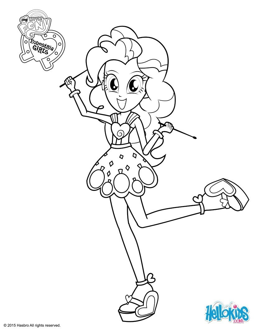 Apple Coloring Page Pinkie Pie Coloring Pages