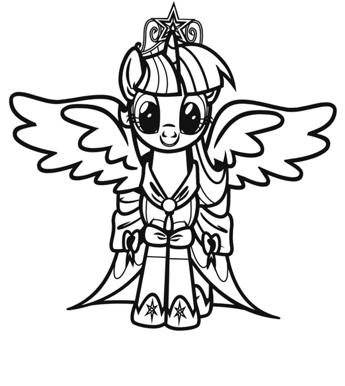 dessin my little pony equestria