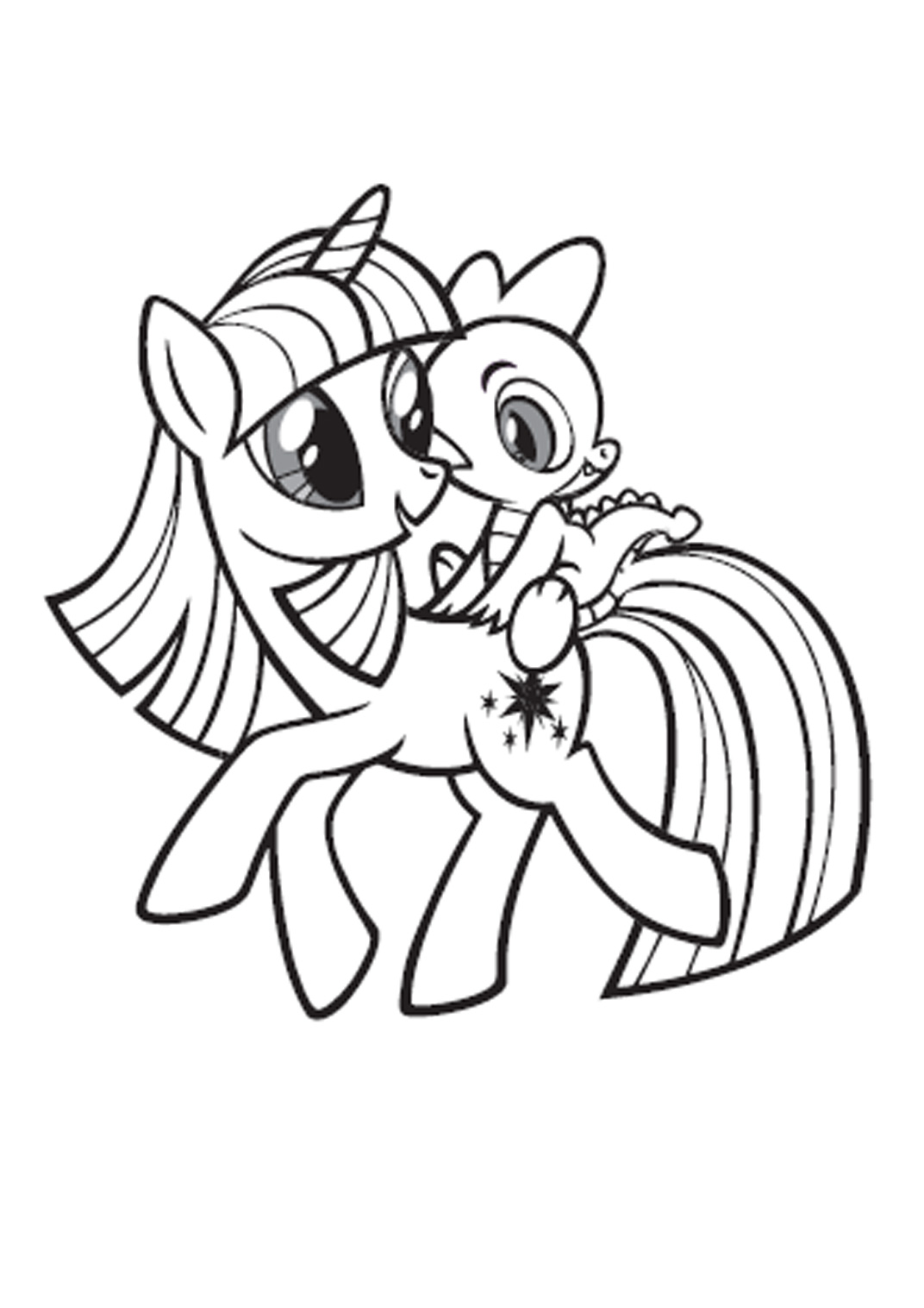 coloriage � dessiner my little pony equestria girl