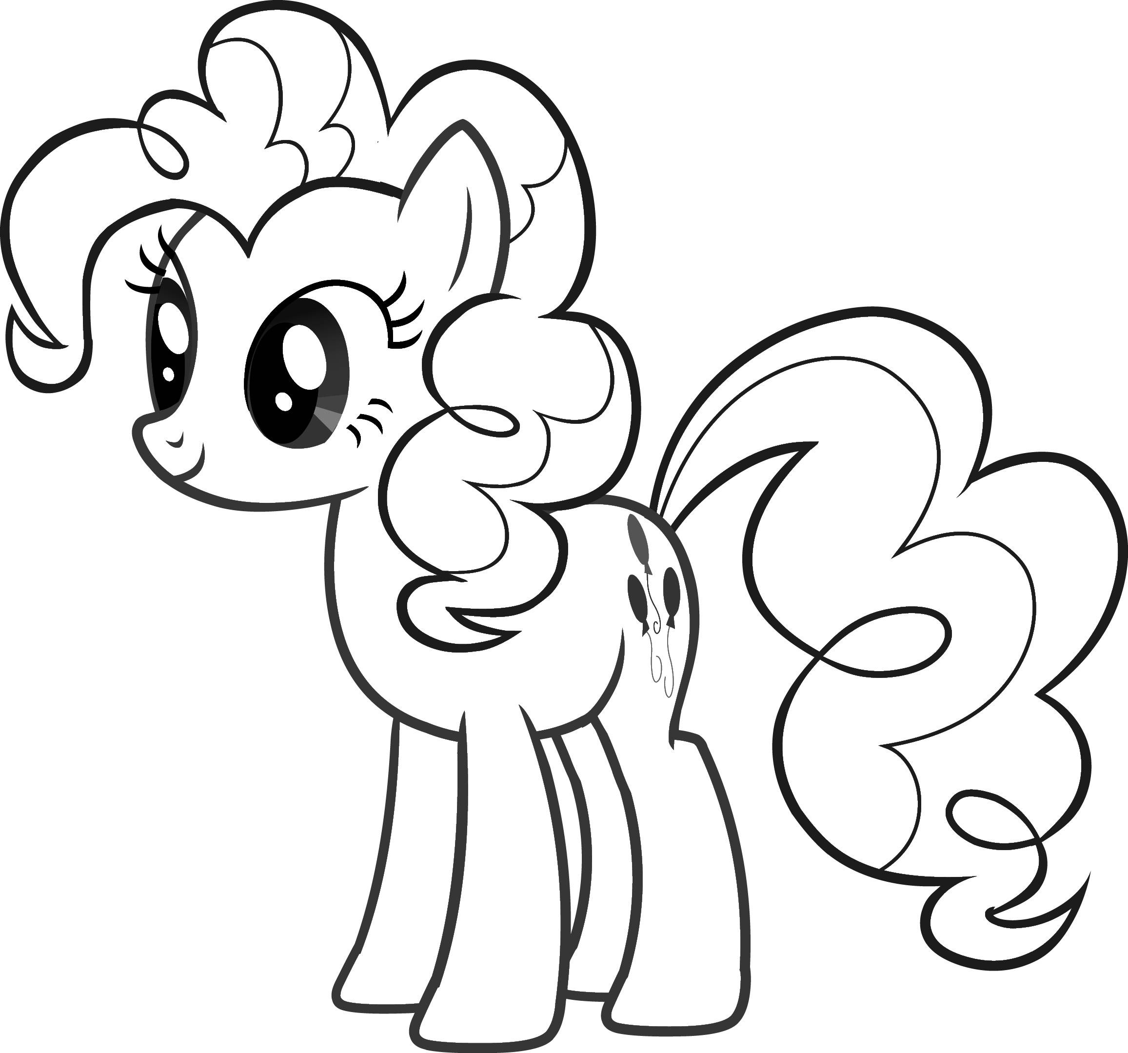 dessin � colorier my little pony