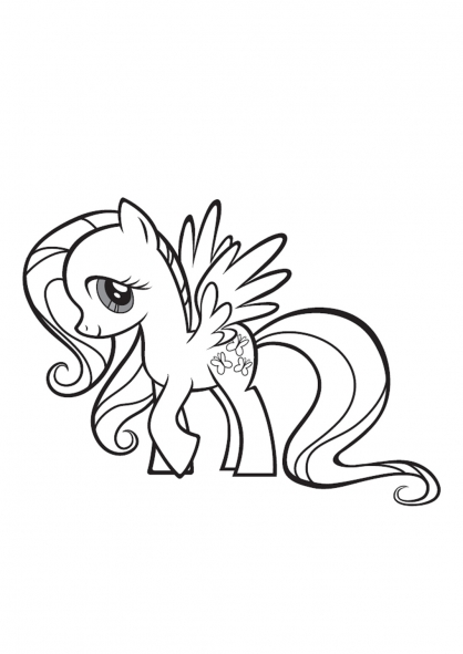 coloriage à dessiner my little pony cadence