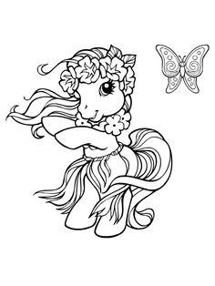 jeu de coloriage my little pony