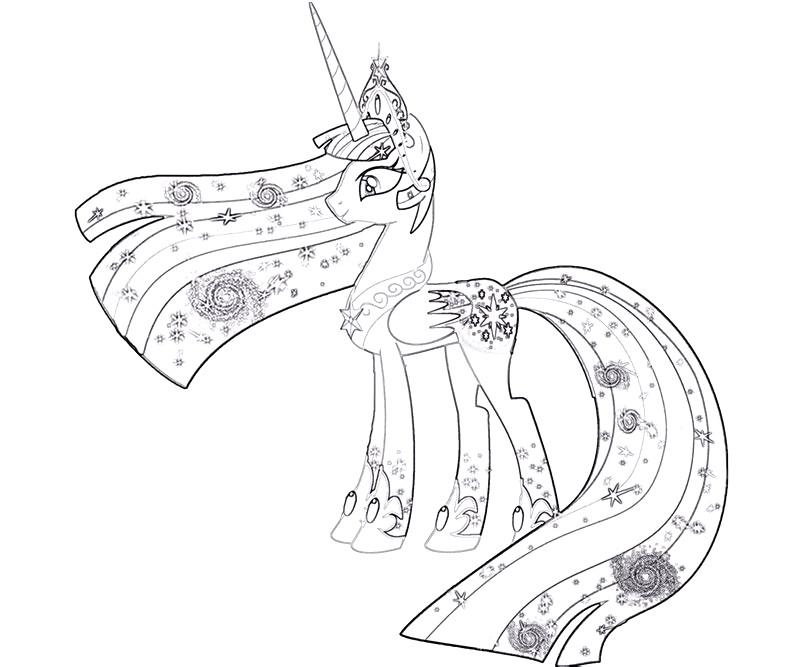 Coloriage dessiner magique my little pony - My little pony a colorier ...