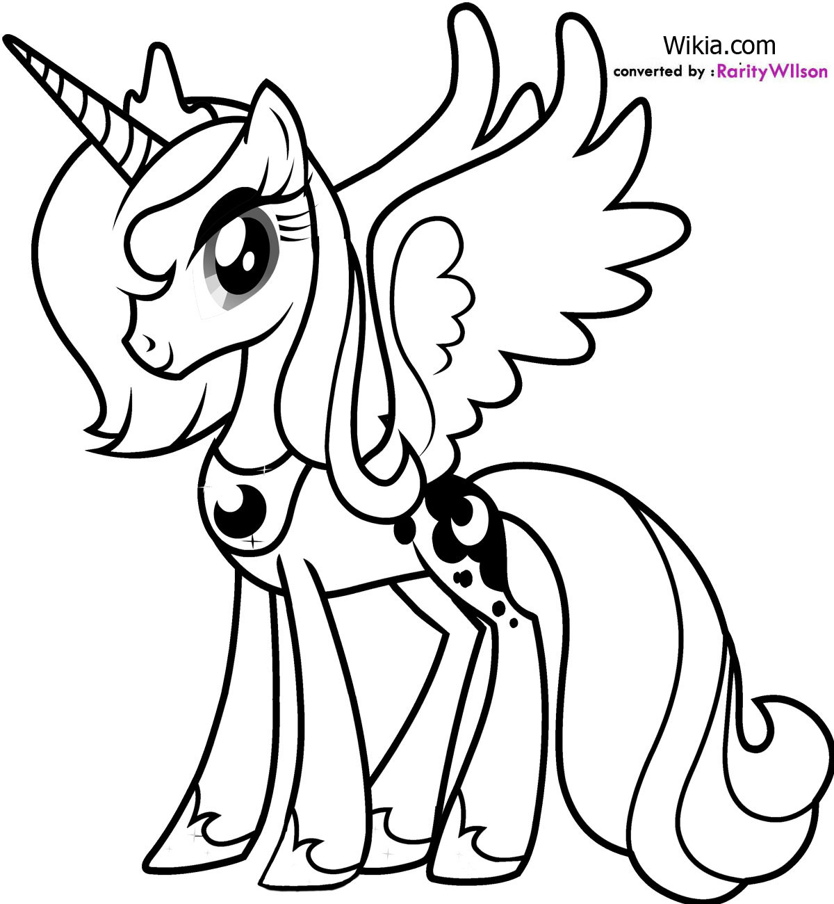 Jeu coloriage my little pony - My little pony a colorier ...