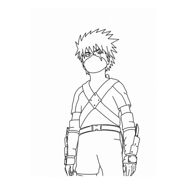 41 Dessins De Coloriage Naruto A Imprimer