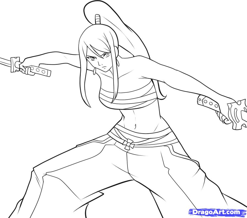 dessin natsu