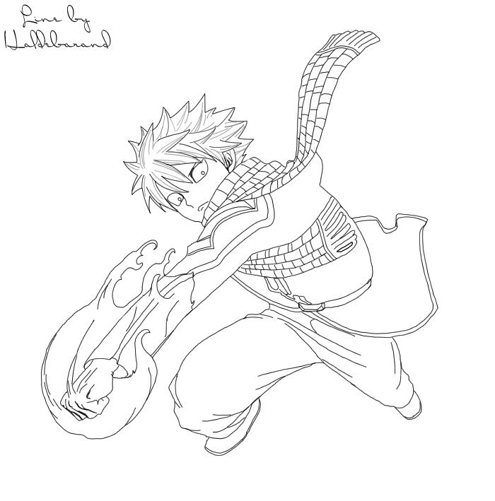 dessin fairy tail natsu et lucy