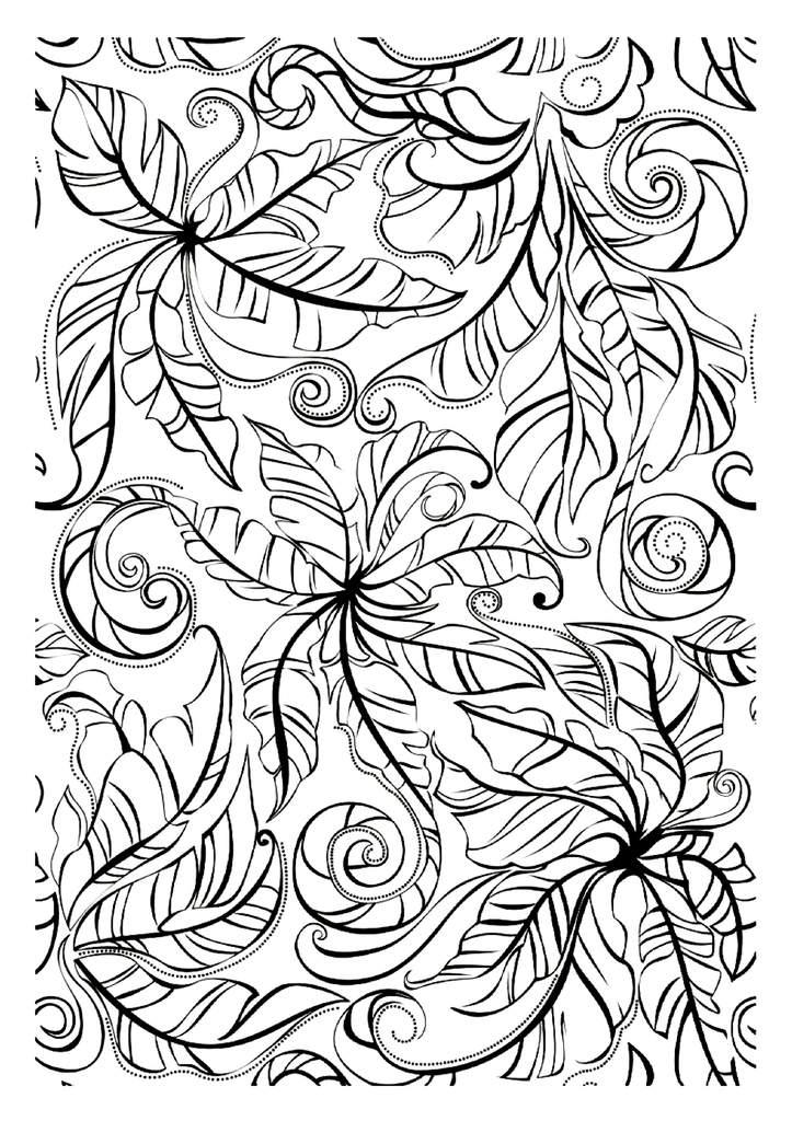 90 dessins de coloriage nature adulte imprimer. Black Bedroom Furniture Sets. Home Design Ideas
