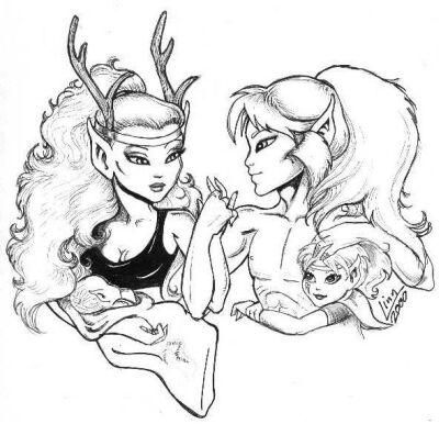 90 dessins de coloriage nature adulte imprimer - Dessin ange demon ...