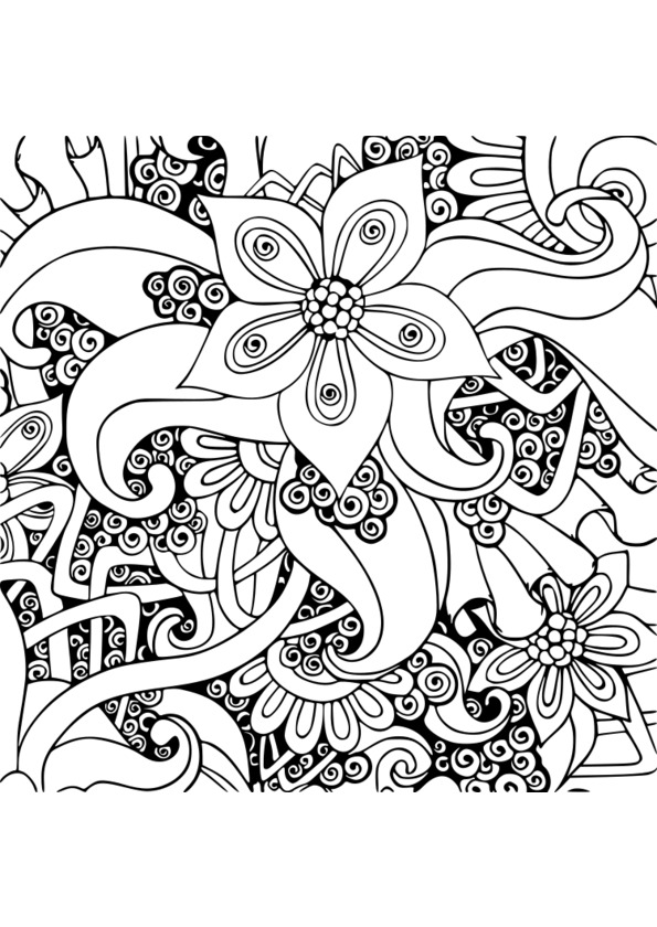 dessin à colorier nature animaux