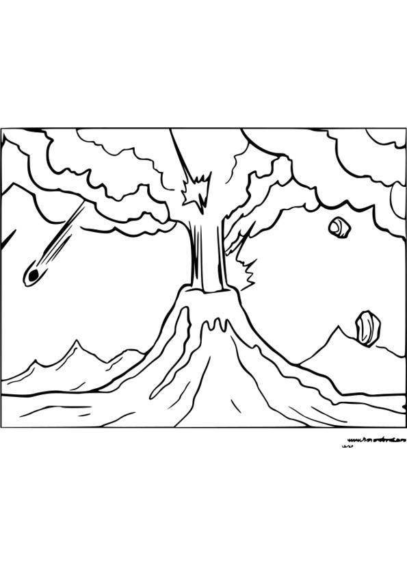 coloriage à dessiner nature et découverte