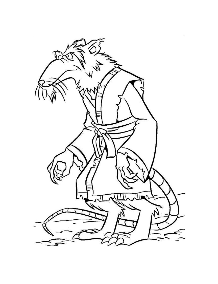 dessin a colorier ninjago