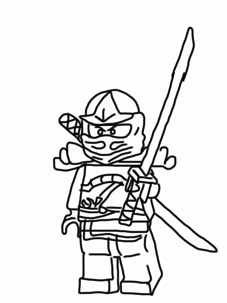 dessin mini ninja
