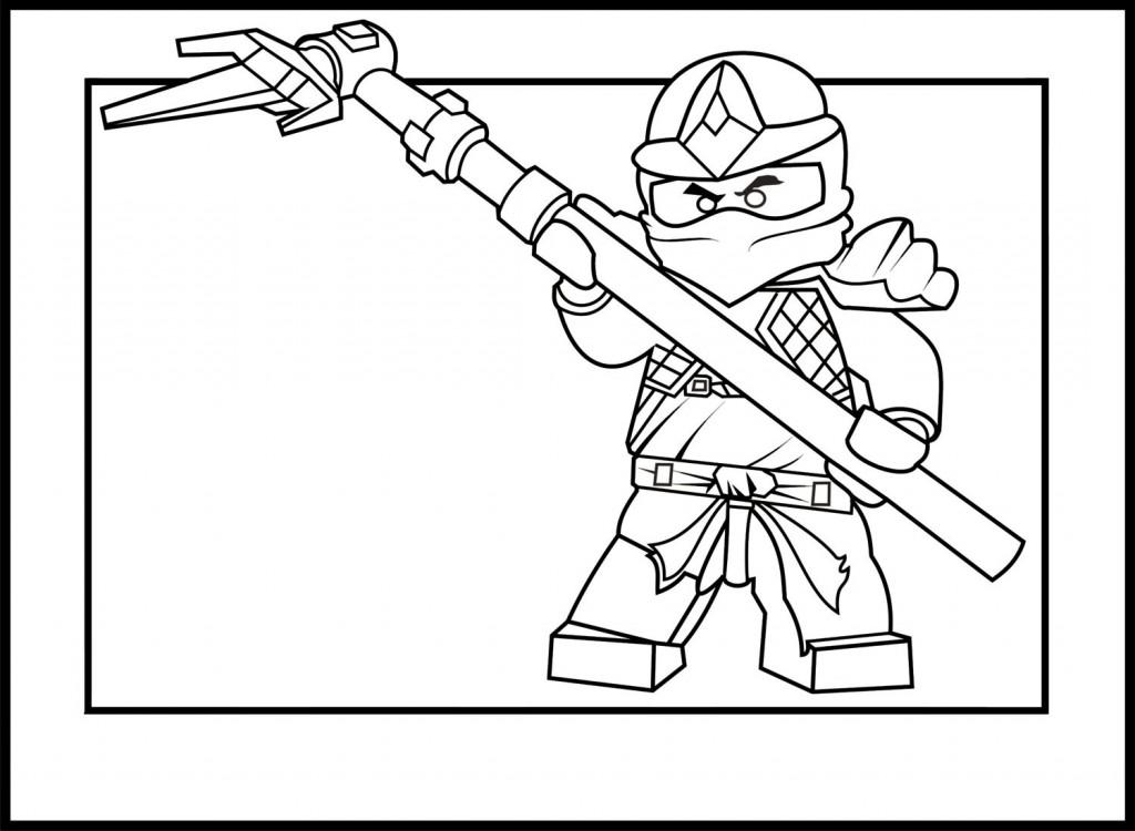 dessin ninja blanc