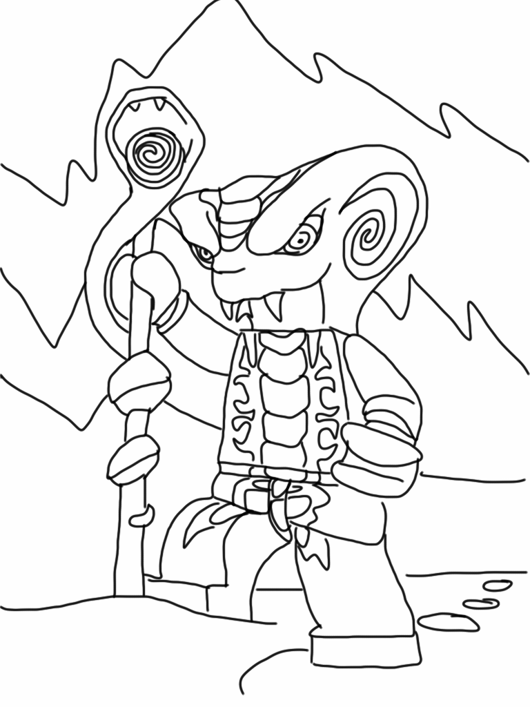 coloriage dessiner ninjago dragon dor