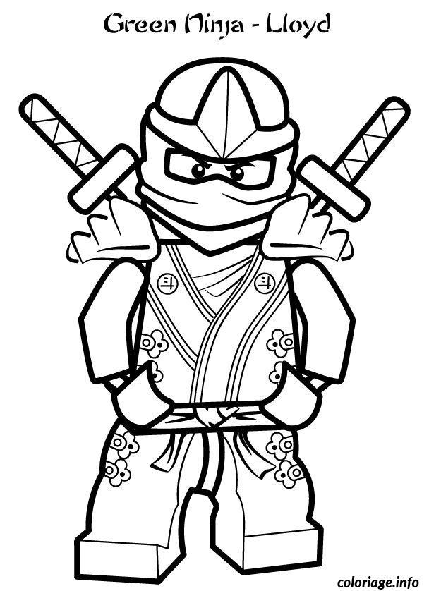 dessin ninjago imprimer gratuit