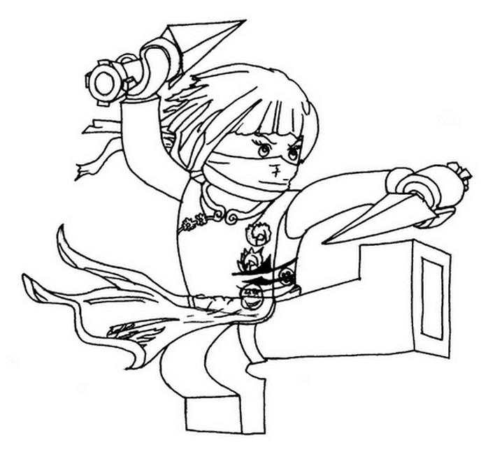 dessin ninjago kyle