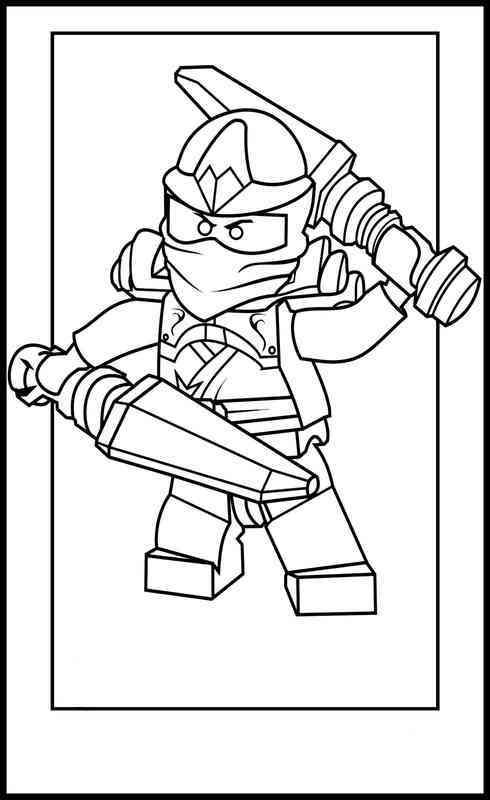 coloriage à dessiner ninjago fr