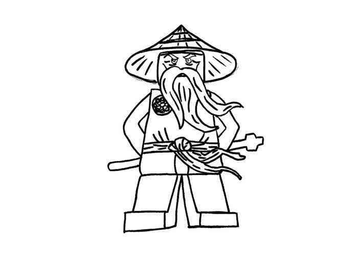 dessin ninjago moto