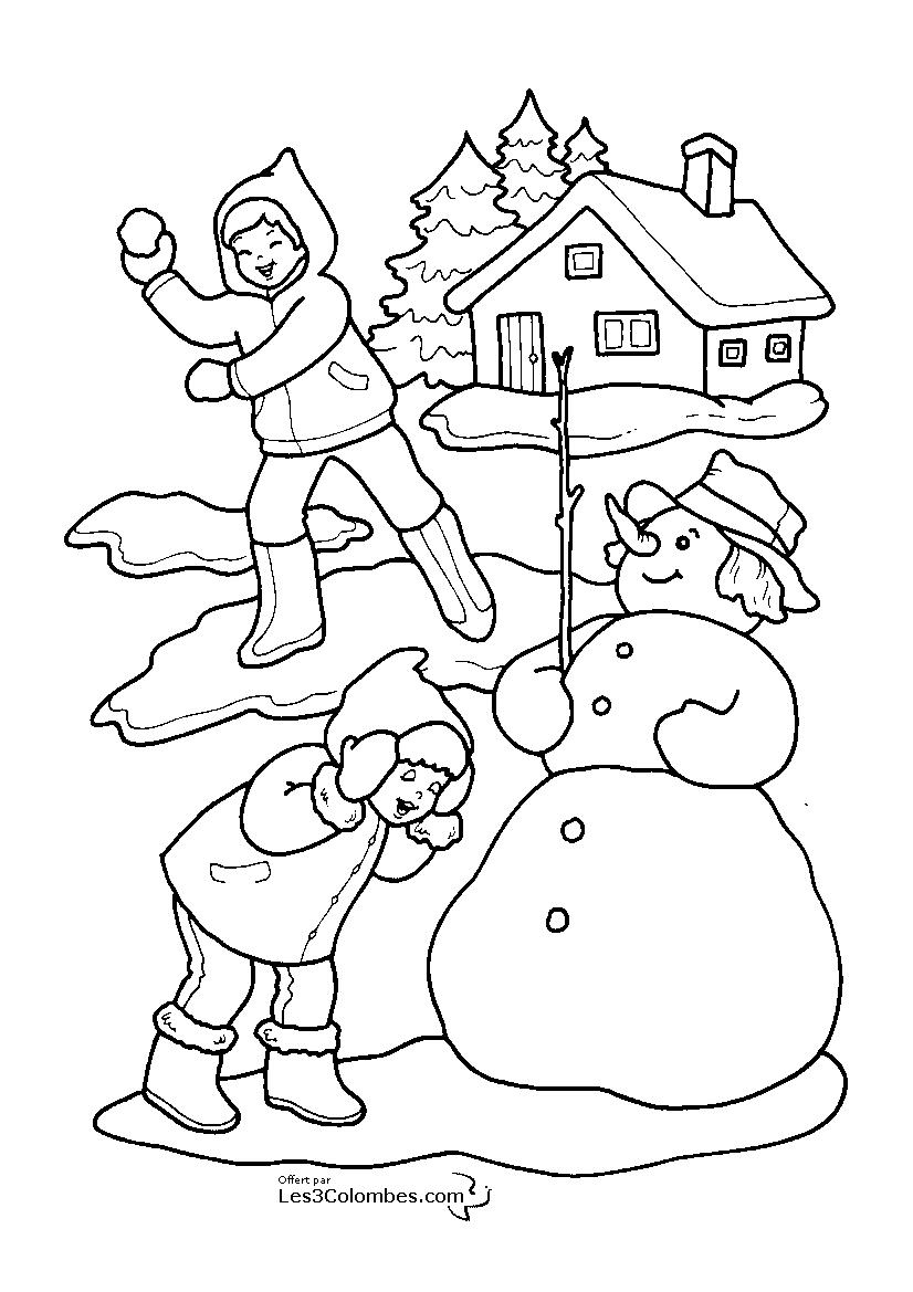 100 dessins de coloriage no l en ligne imprimer - Coloriage noel en ligne ...