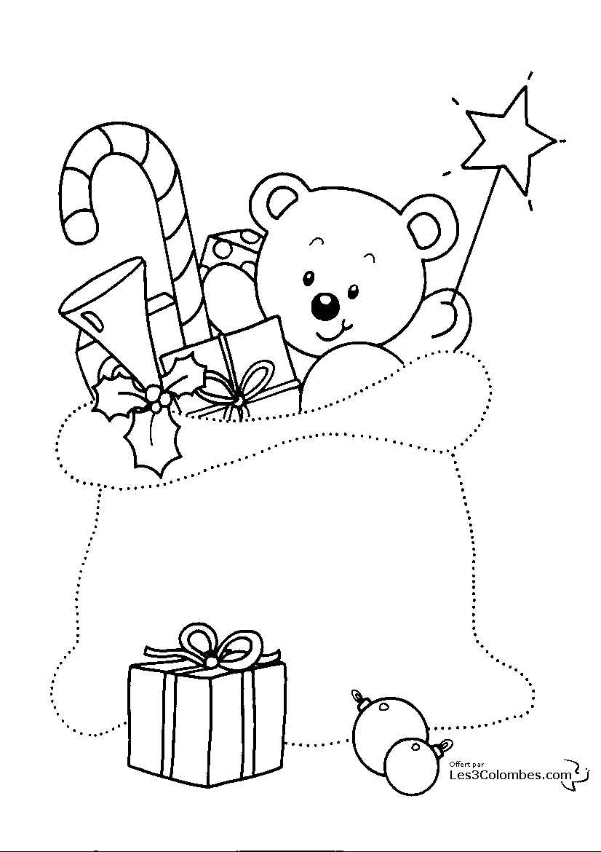 100 dessins de coloriage no l en ligne imprimer - Coloriage de noel a imprimer gratuit ...