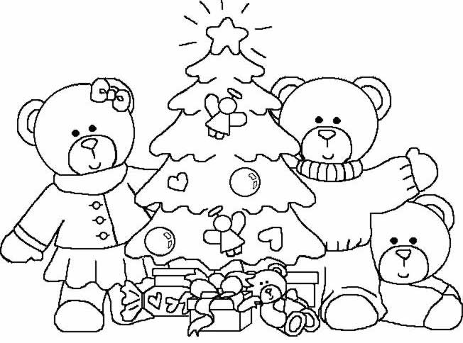 coloriage noel difficile