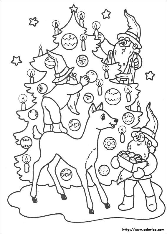 115 dessins de coloriage no l imprimer - Coloriage de noel a imprimer gratuitement ...