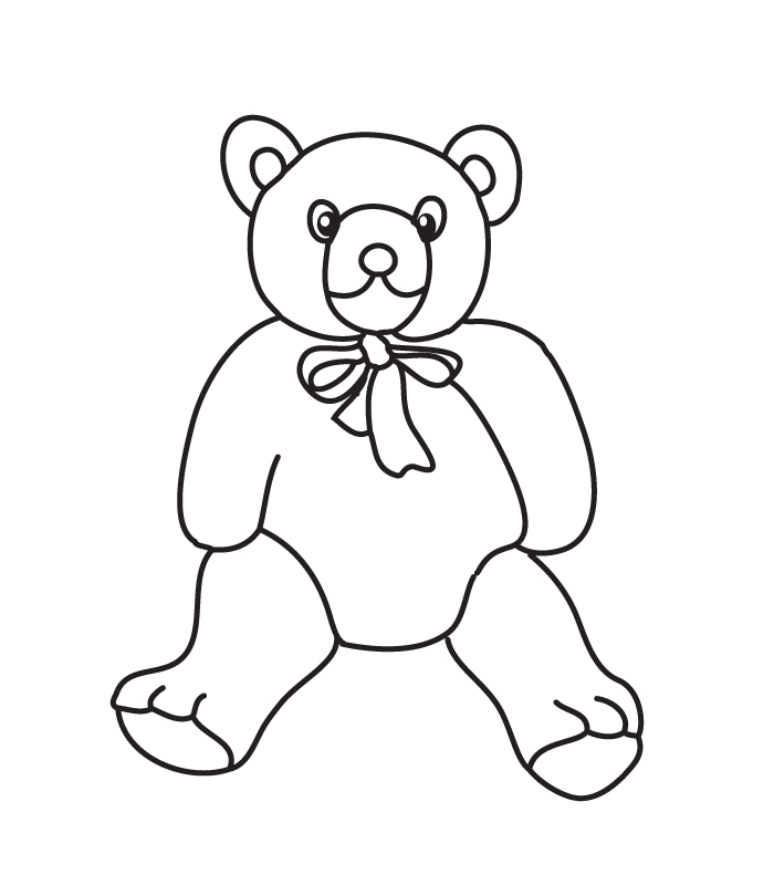 Coloriage ours paddington - Dessins de nounours ...
