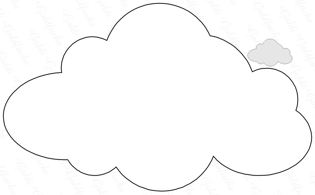 coloriage d'un nuage