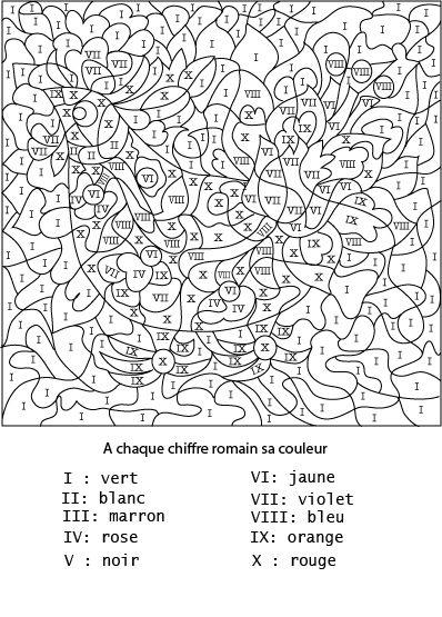 36 Dessins De Coloriage Numerote A Imprimer