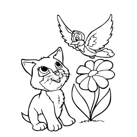 20 dessins de coloriage oiseau en ligne imprimer - Un oiseau dessin ...