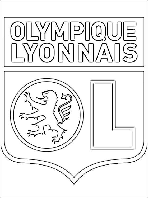 Coloriage olympique - Dessin equipe de foot ...