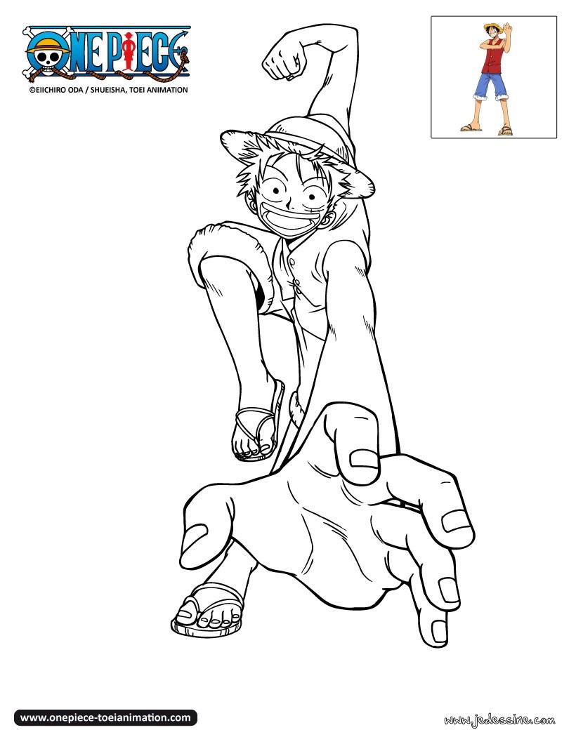 dessin à colorier one piece nico robin a imprimer