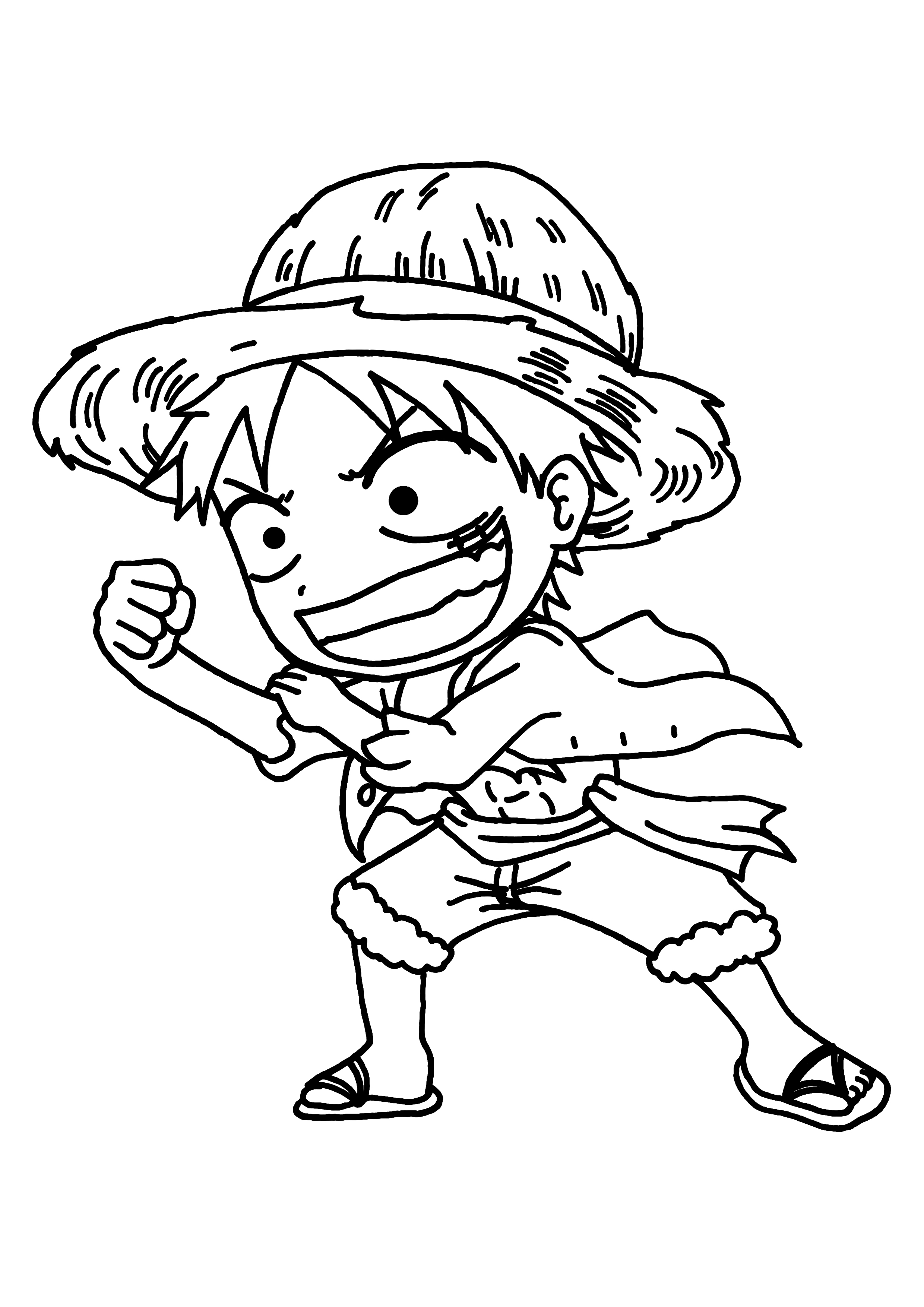 Dessin A Imprimer One Piece