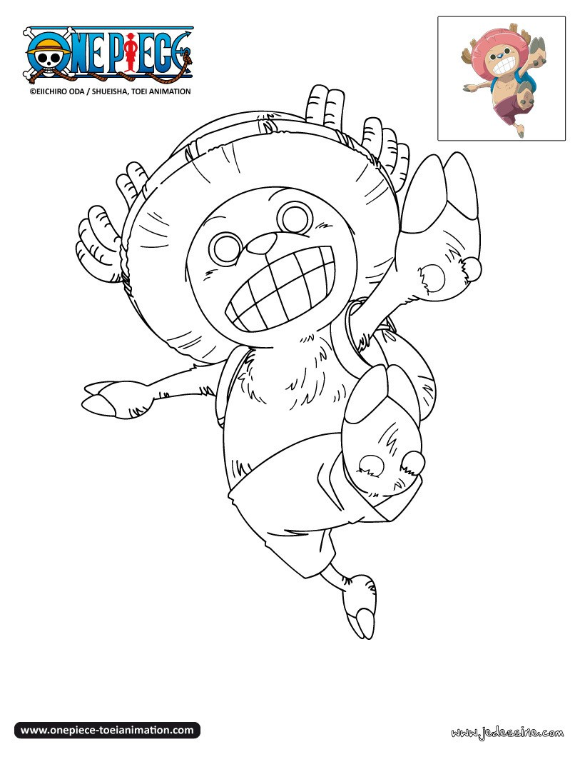 Coloriage One Piece Roronoa Zoro