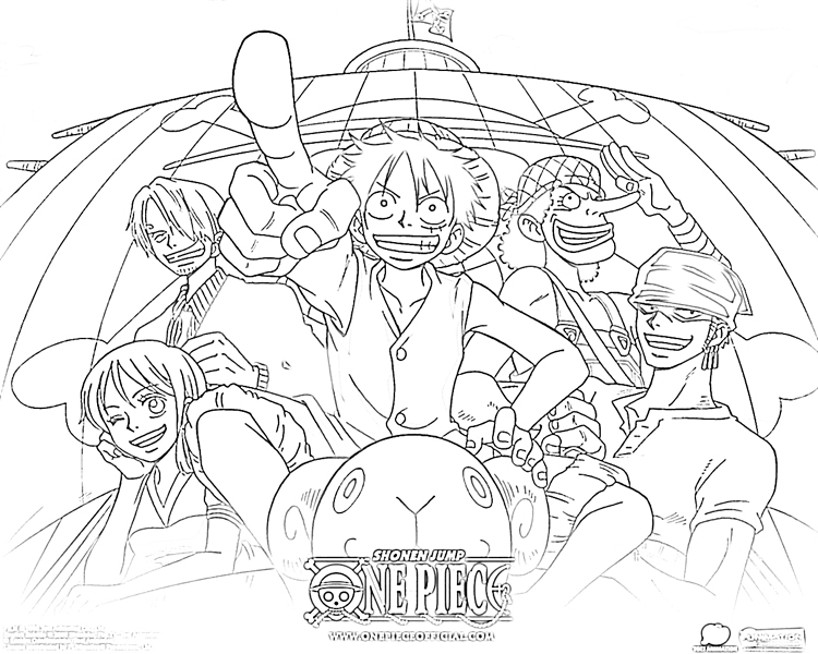 Coloriage One Piece A Imprimer Zoro
