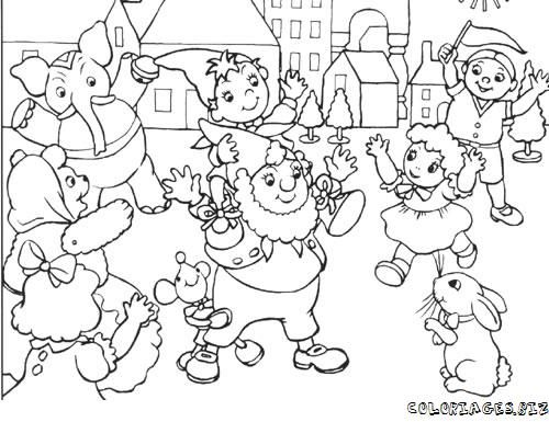 HD wallpapers coloriage a imprimer pere noel traineau