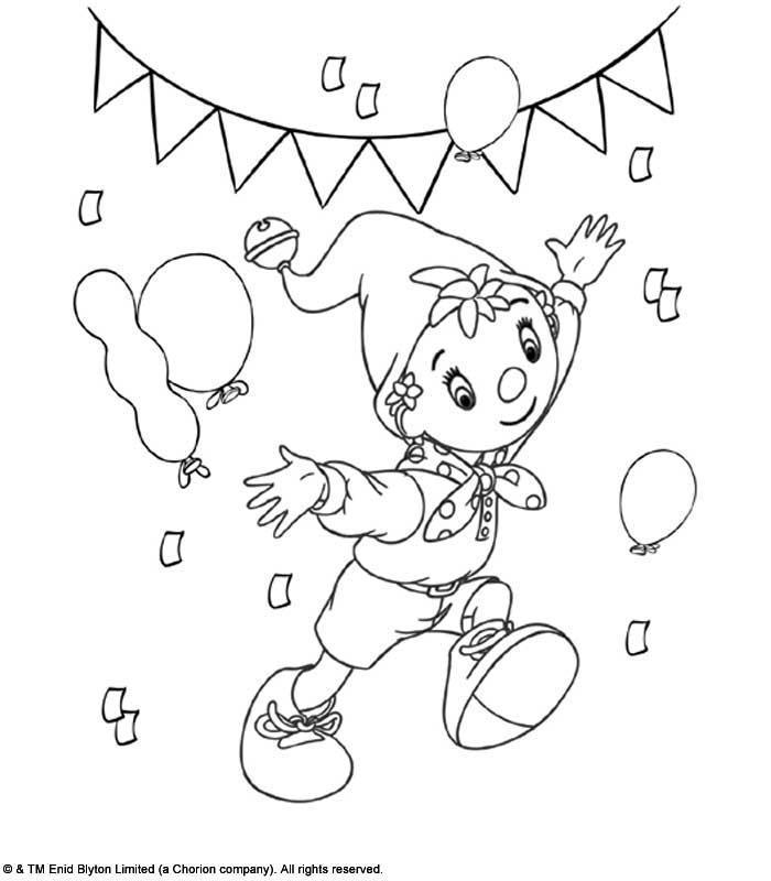 Dessin oui oui et le gateau anniversaire - Tete de oui oui ...