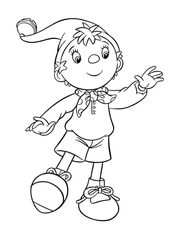 Coloriage dessiner oui oui culbuto - Le dessin anime oui oui ...