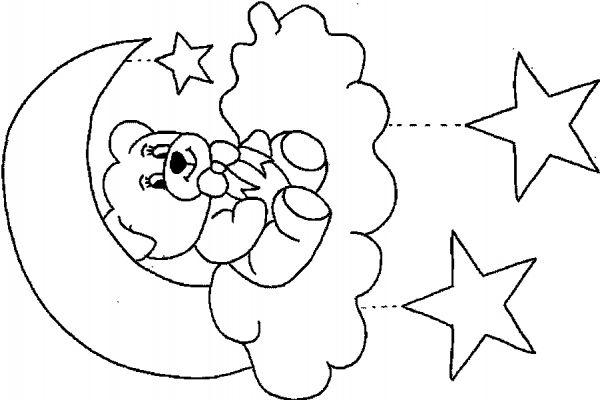 20 dessins de coloriage ours en peluche imprimer - Nounours a colorier ...