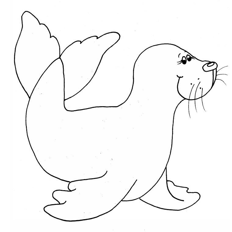 17 dessins de coloriage Ours Polaire Gratuit à imprimer